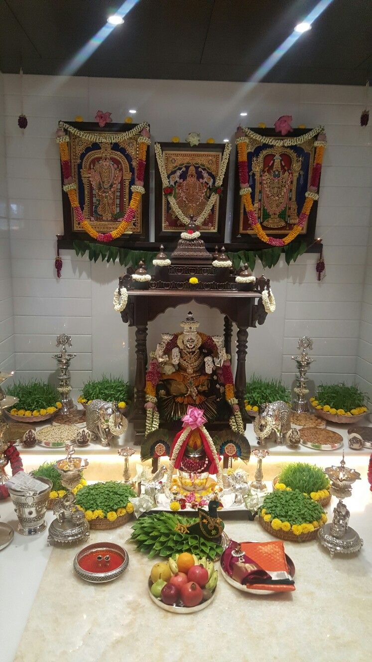 Silver Pooja Items Lakshmi Lakshmi