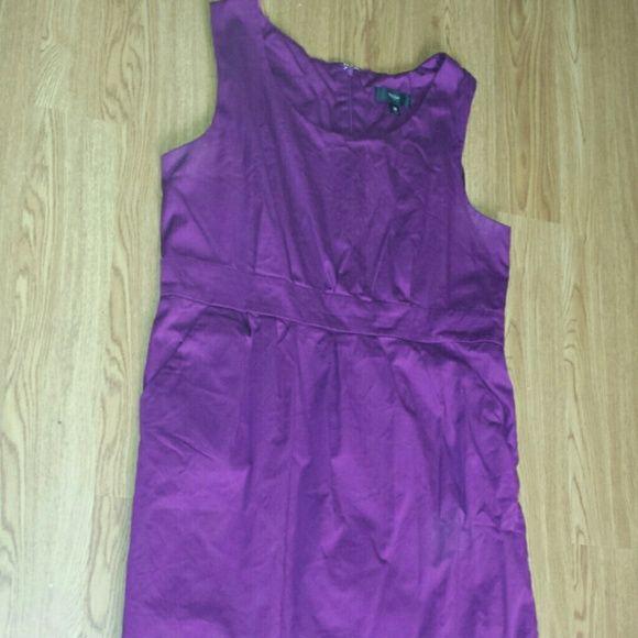Purple Dress Purple sleeveless dress with side pockets. Mossimo Supply Co Dresses