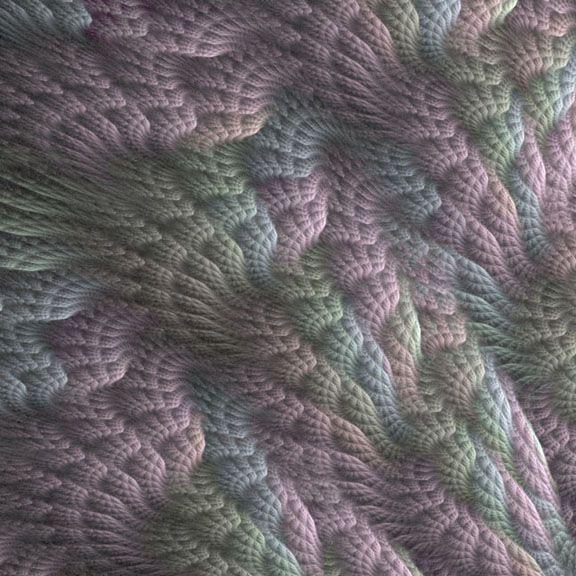 fractal flames crochet 10 Stunning Examples of Crochet Fractals