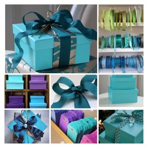 gift wrapping service boxes