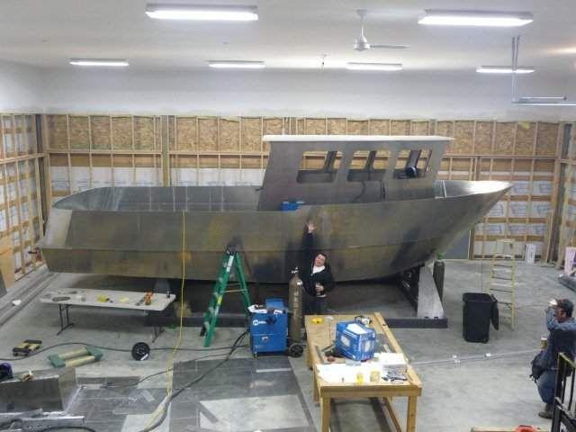Fishing boats plans work boat plans STEEL KITS POWER, boat ...