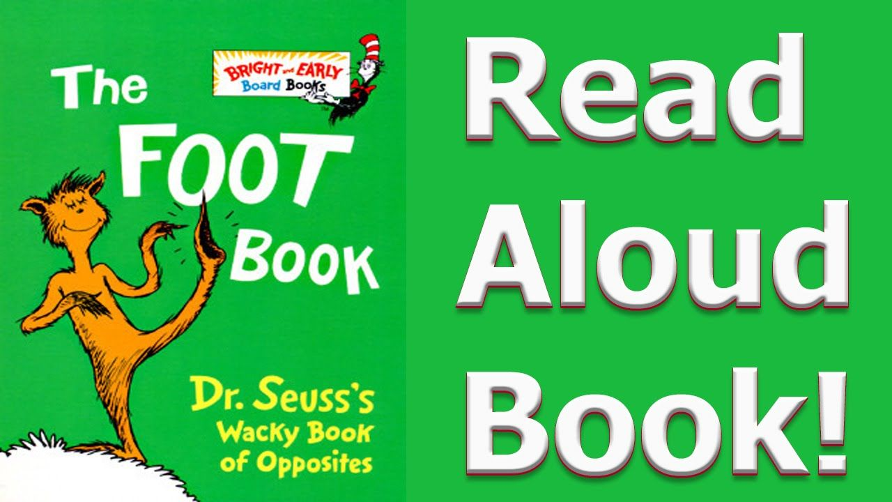 The Foot Book - Read Aloud Story Book for Kids