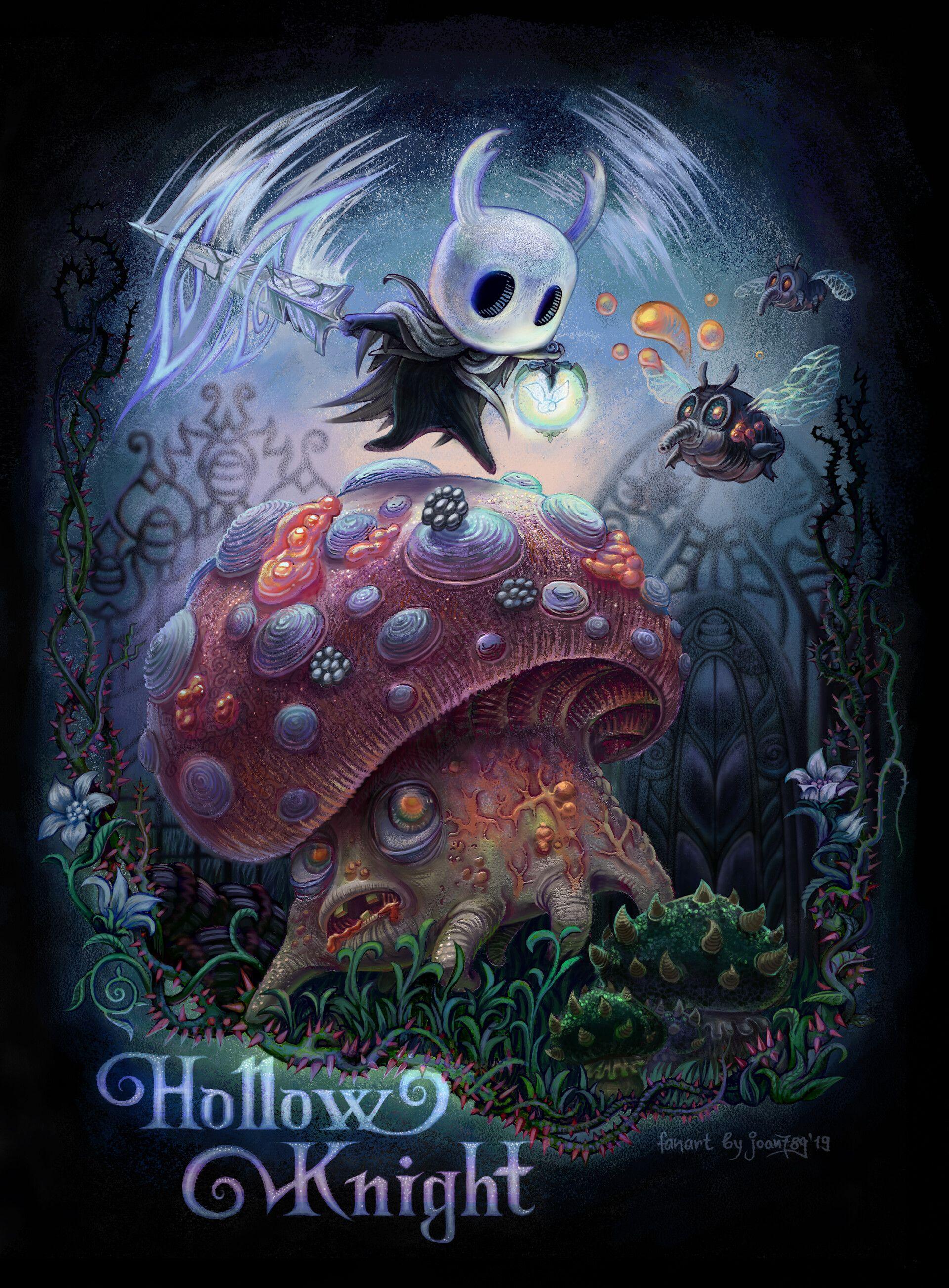 Artstation Hollow Knight Fan Art Yana Gryzlina Hollow Art Knight Fan Art