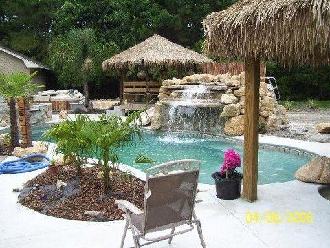 Love The Palapa Idea Around The Pool Inground Pool
