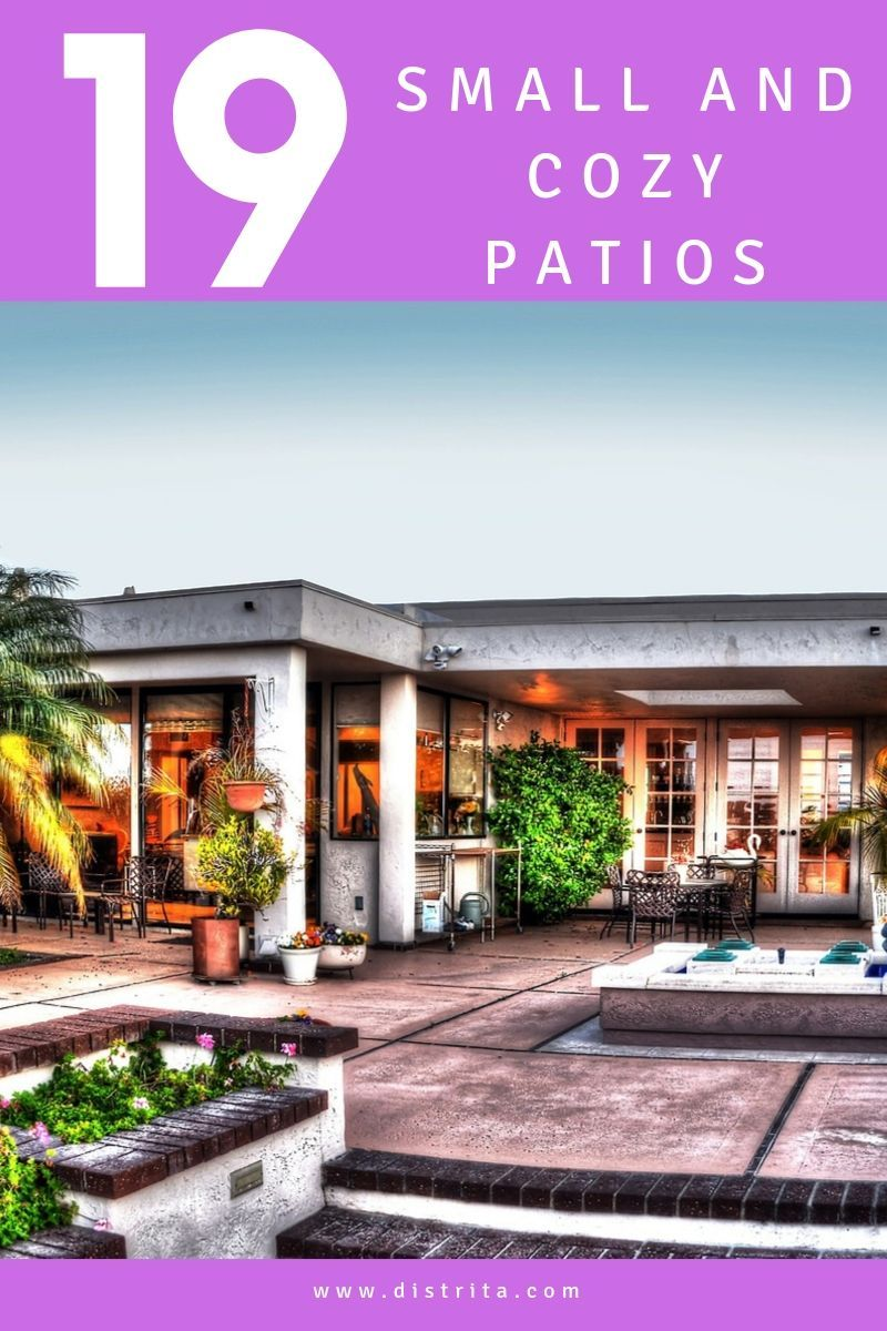 19 Small Patio Backyard Ideas And Garden Inspiration From ... on Mexican Patio Ideas  id=69544