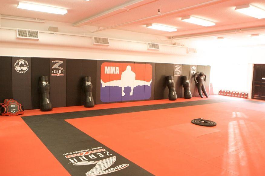MMA gym spaces and dojos Martial arts gym, Mma gym