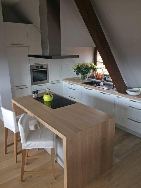 Sento Island Black Loft Kitchen Kitchen Colors Minimalism Interior