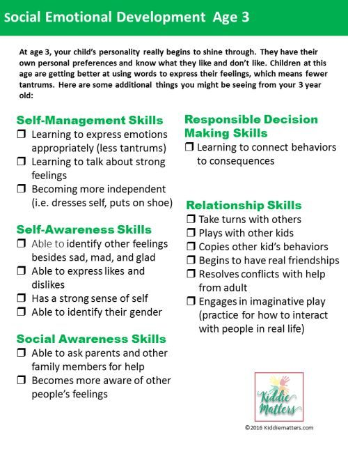 Use this social emotional checklist to assess the social ...