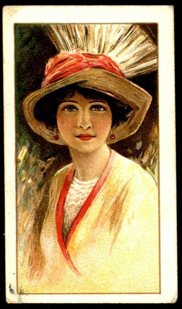 Pin on tobacco/trade cards women/children 1