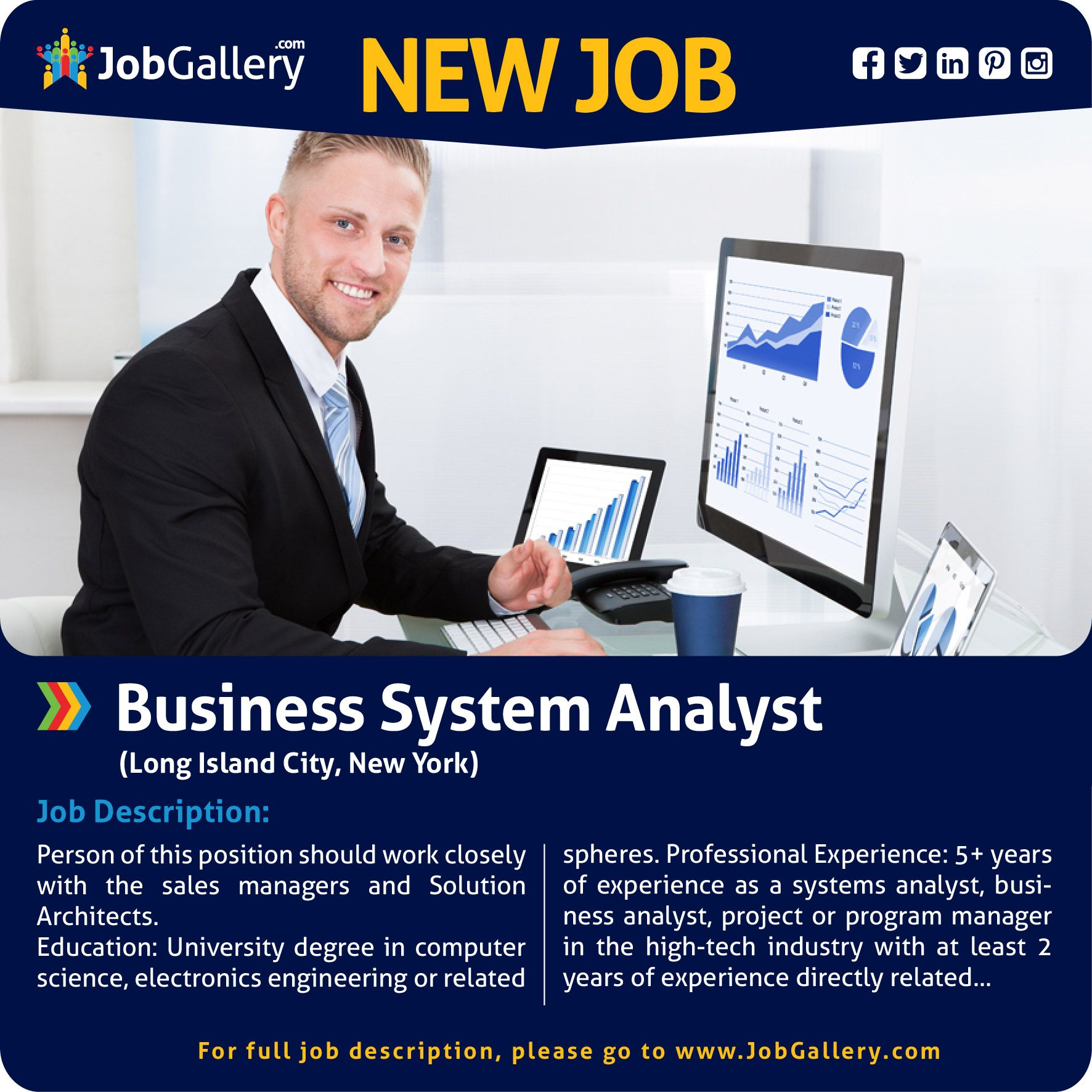 Business System Analyst   Business systems, Job posting ...