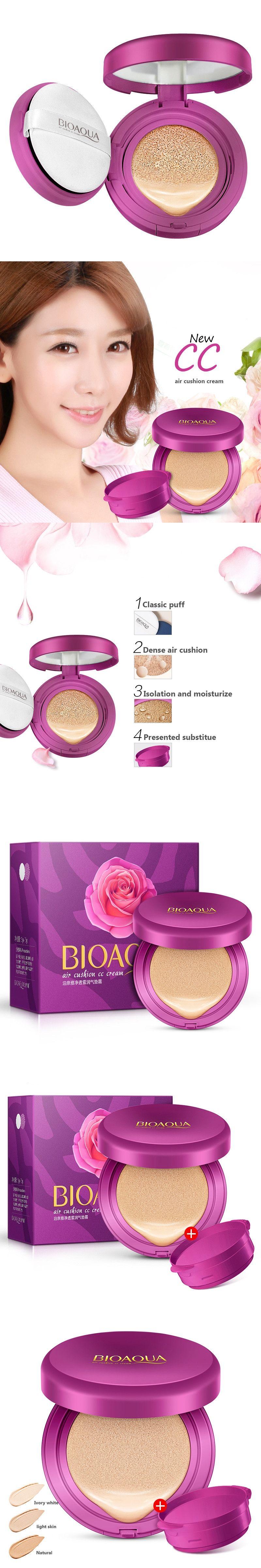 Bioaqua Air Cushion Bb Cream Concealer Moisturizing Foundation Bio Aqua Aircusion Makeup Whitening Brighten Face Beauty Cosmetic