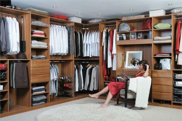 offener eckkleiderschränke begehbarer kleiderschrank system ...
