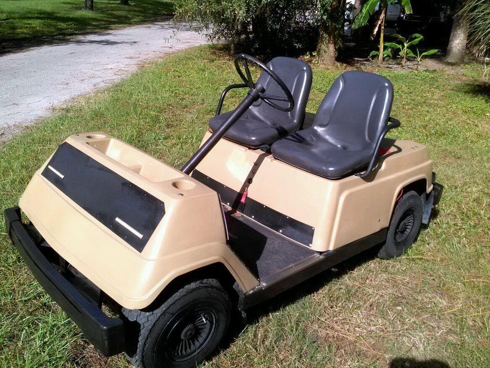 Vintage Yamaha 36 Volt Golf Cart Decent Shape Delivery Available Golf Carts Golf Vintage Golf