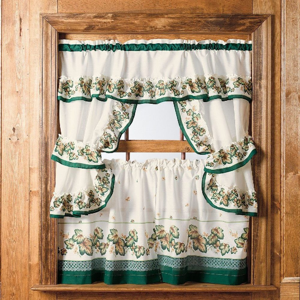 Brown kitchen curtains and valances latulufofeed