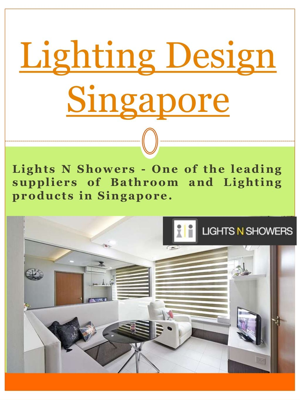 Among The Greatest Things About Designer Lighting Singapore Is New