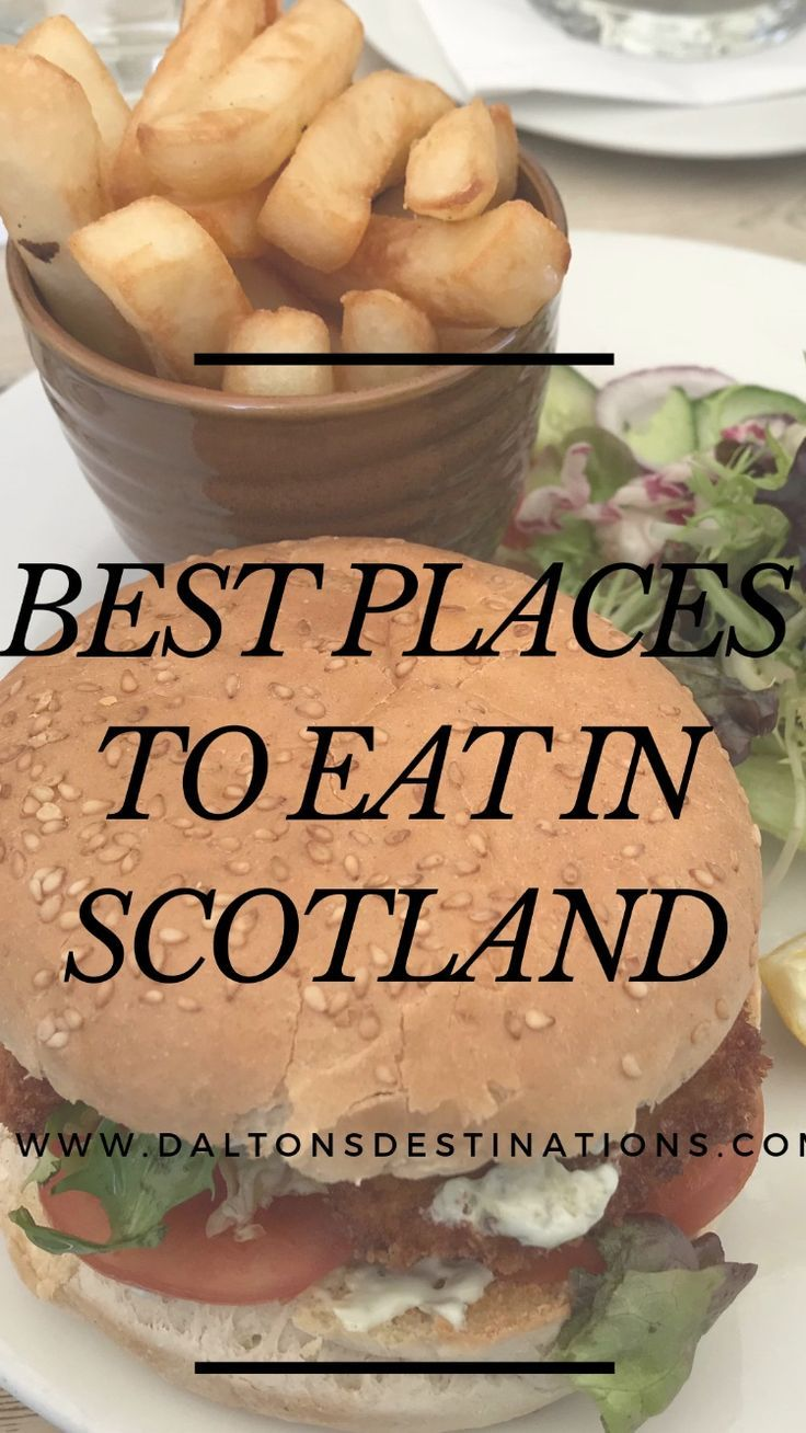 Traveling to Scotland? Here are some of the best places you should try when you visit! Including best foods and best restaurants! #scotlandfoodguide #edinburghfoodguide #bestplacestoeatinscotland #travelscotland