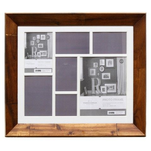 Threshold Wooden Collage Frame Light Brown Frame Light Picture Frame Display Collage Frames