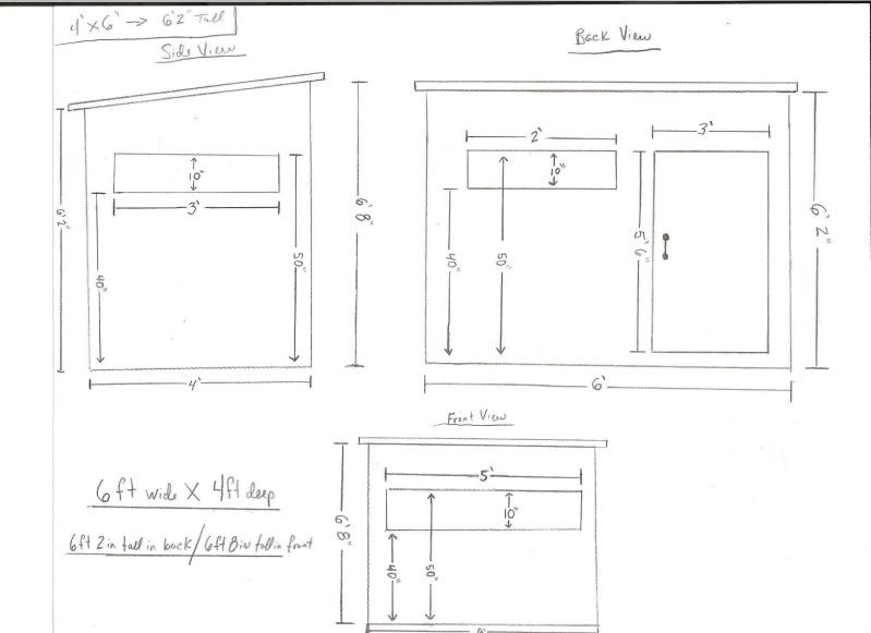 free deer stand plans, that will help you build a hunting blind and