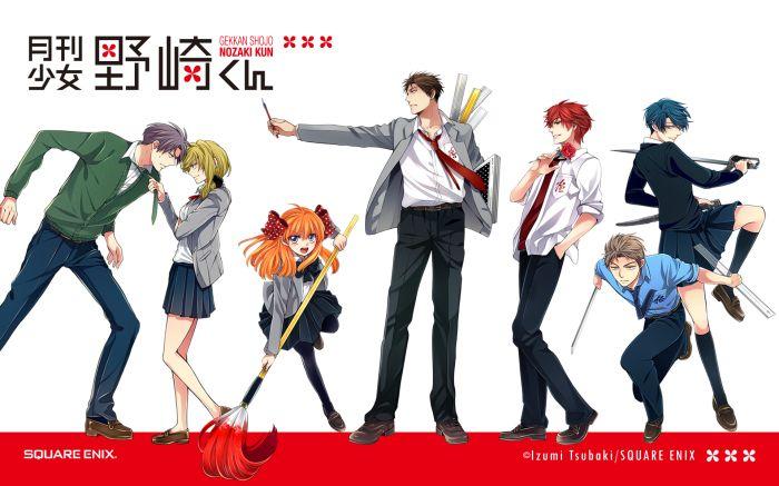 6 Anime like Gekkan Shoujo Nozaki-kun (Monthly Girls' Nozaki-kun ...