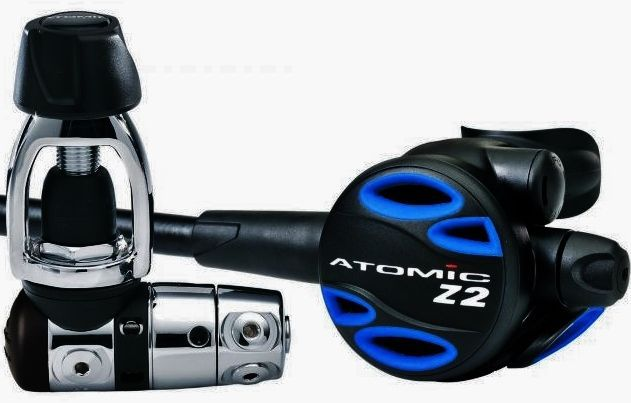 Atomic Aquatic 1st And 2nd Stage Regulator Scuba Diving