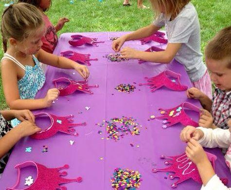 juego para fiesta de princesas