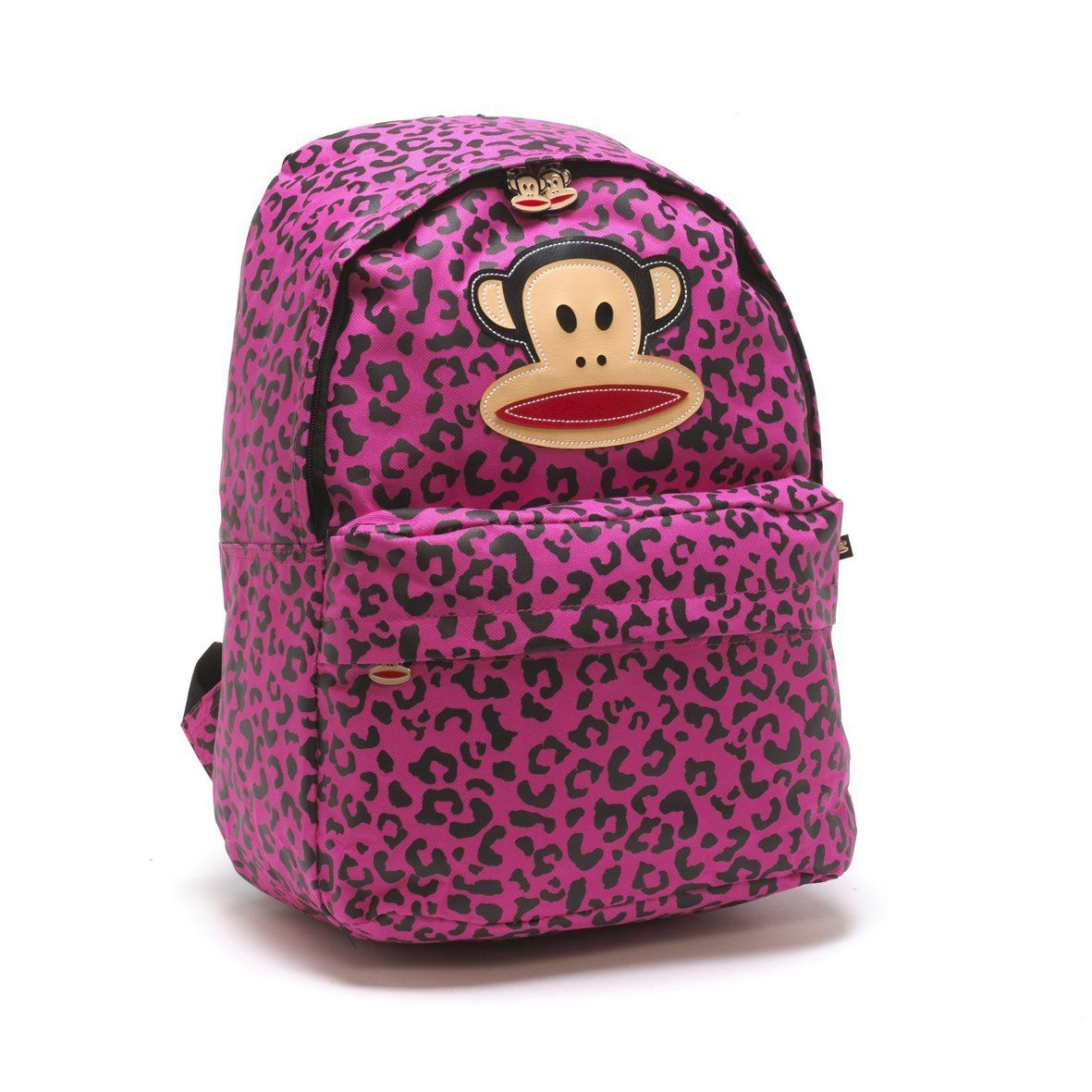 99973687f Paul Frank School Backpack Rucksack - Leopard Print Pink | JUNGLE ...