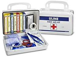 Uline First Aid Kit 10 Person H 1292 First Aid Kit First Aid Aid Kit