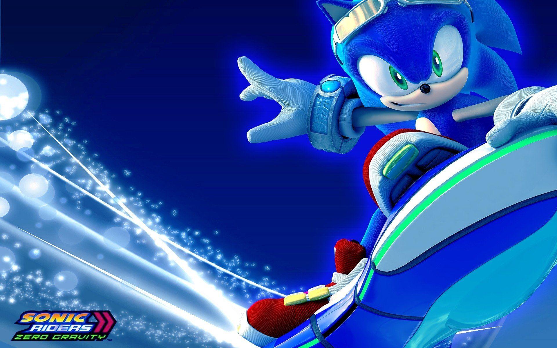 Hasil gambar untuk sonic riders wallpaper Sonic, Sonic