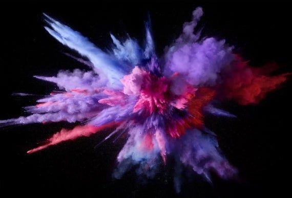 Gender Reveal Powder Skeet Diy Kit For Clay Pigeons Comes Etsy Color Splash Purple Mac Wallpaper Computer Wallpaper Hd