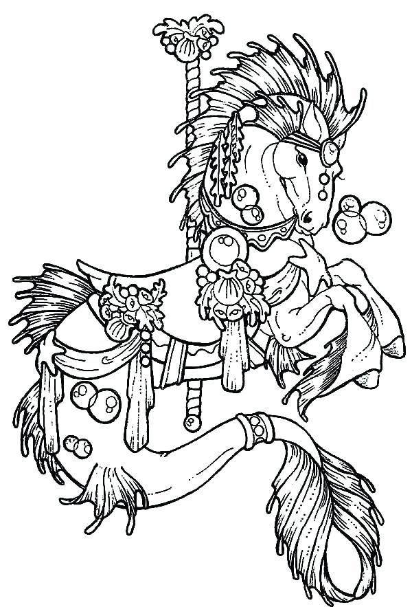 Carousel Horse Coloring Pages Carousel Coloring Page Carousel Horse Coloring Fresh Carousel Col Horse Coloring Pages Carousel Horse Tattoos Cute Coloring Pages