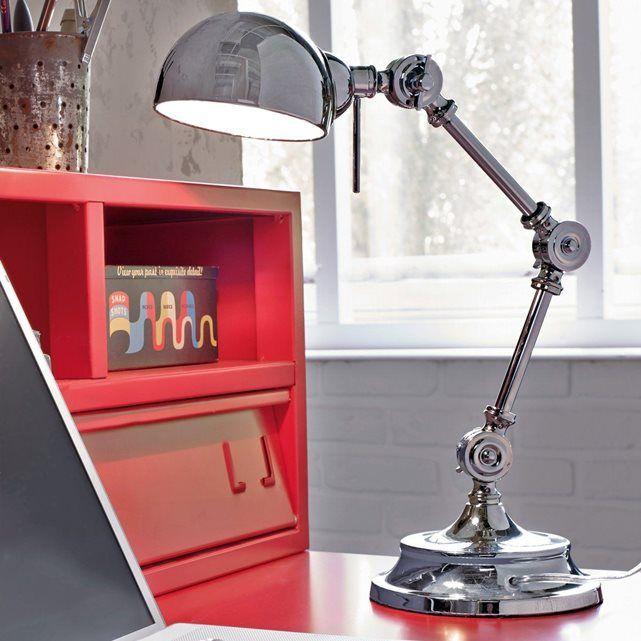 Lampe de bureau, métal, style industriel, Kikan   Maxis, Bureaus ...