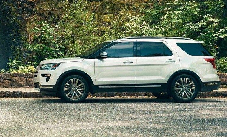 2020 Ford Explorer redesign รถยนต์
