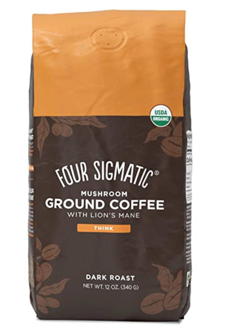 Review of Organic & Fair Trade Ground Coffee by Four Sigmatic $19 in 2020 | Four sigmatic ...