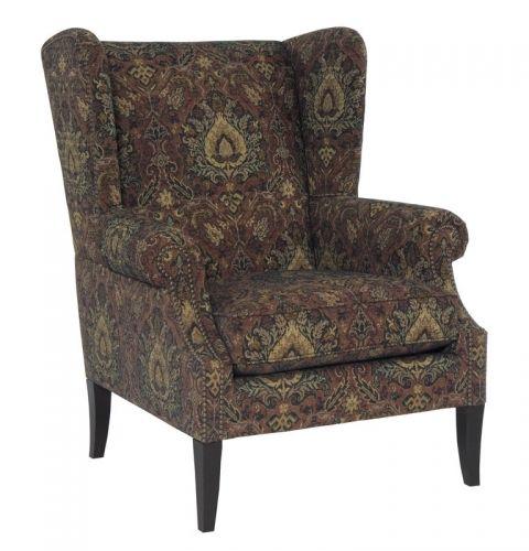 Jeremy Chair | Bernhardt 4403 #Wingback W 35.5 D 38 H 43 SH 19 AH ...