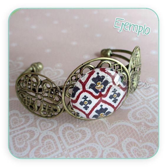 Pulsera ornamentos. http://www.creabisuteria.es/catalogo/pulseras/