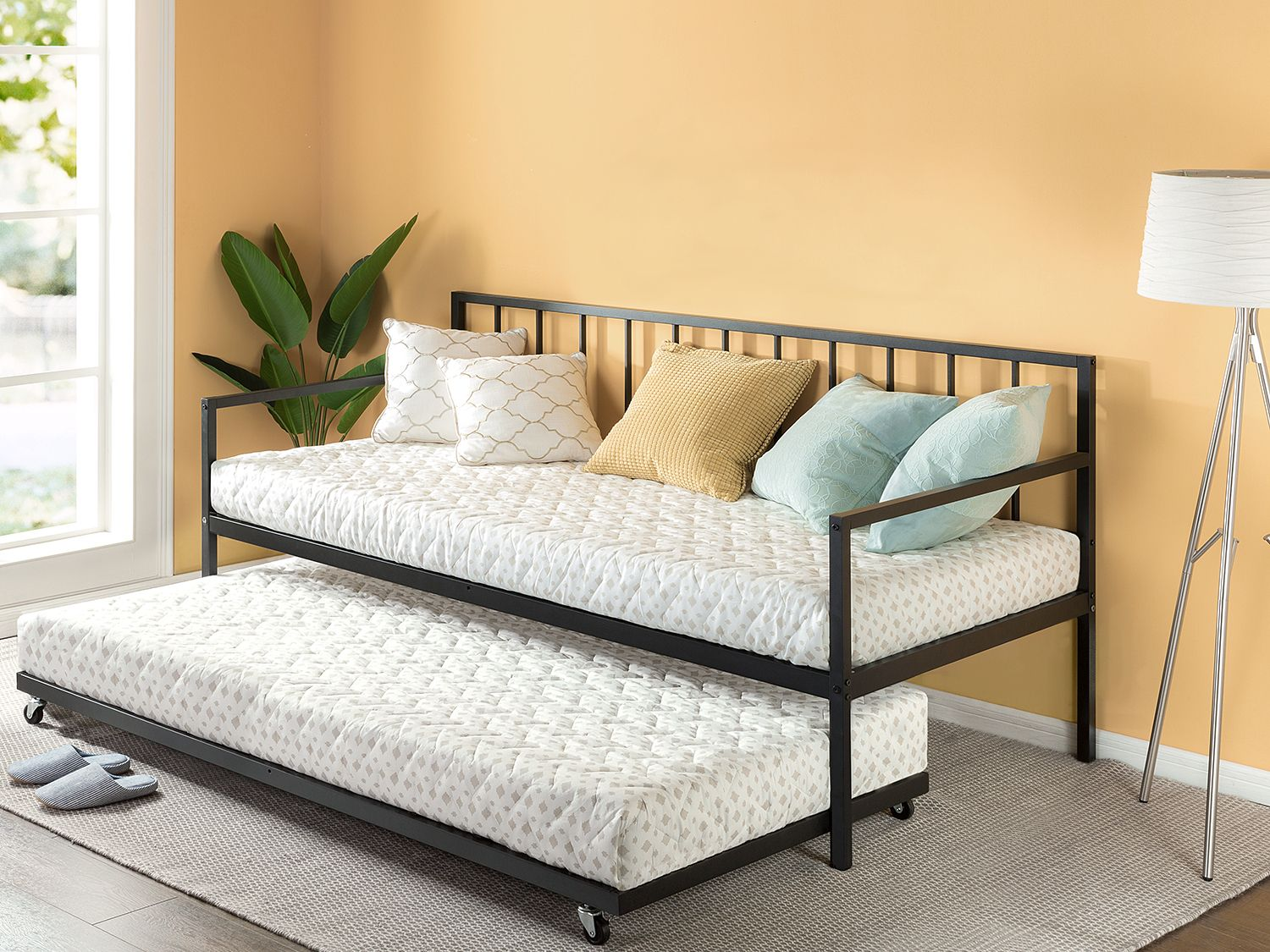 Home in 2020 Twin mattress size, Daybed with trundle