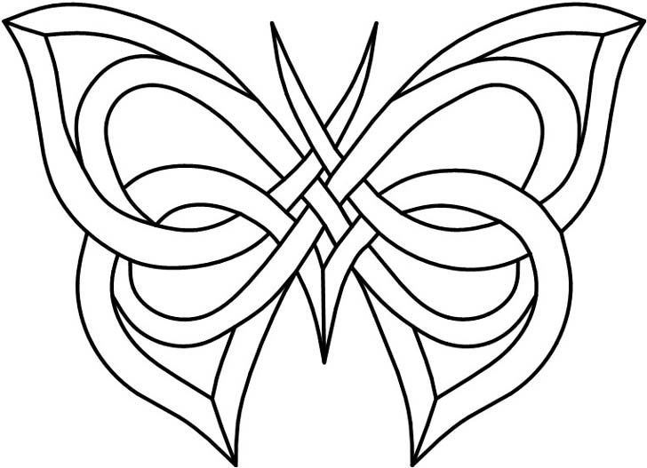 butterfly stained glass patterns