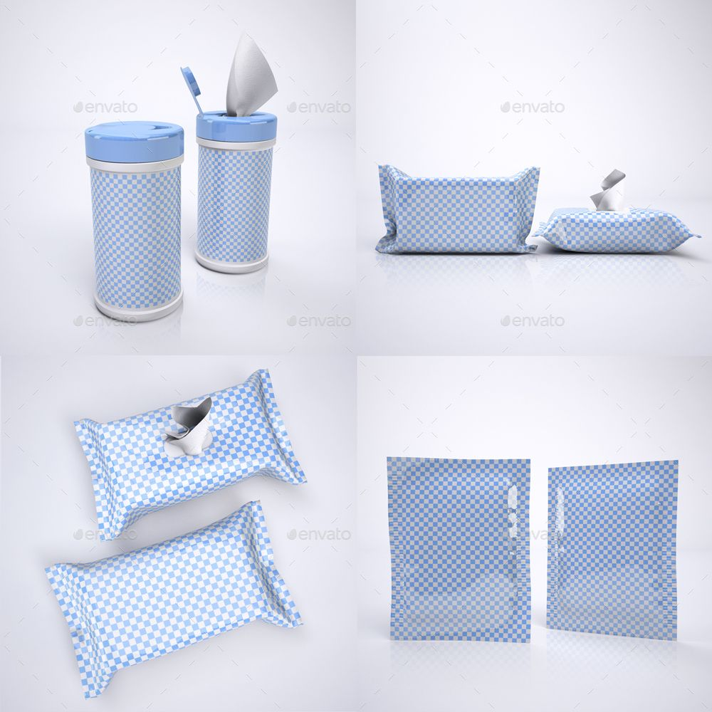 Wet Wipes MockUp Ad Wet, Sponsored, Wipes, Mock