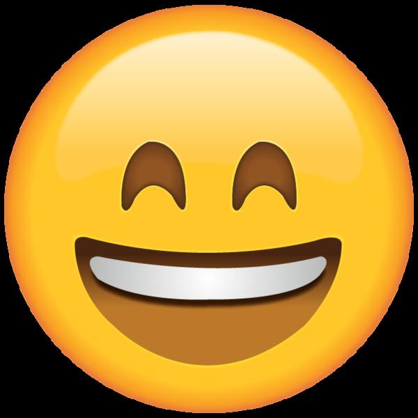 Smiling Emoji With Smiling Eyes Funny Emoji Faces Emoji Clipart Emoji