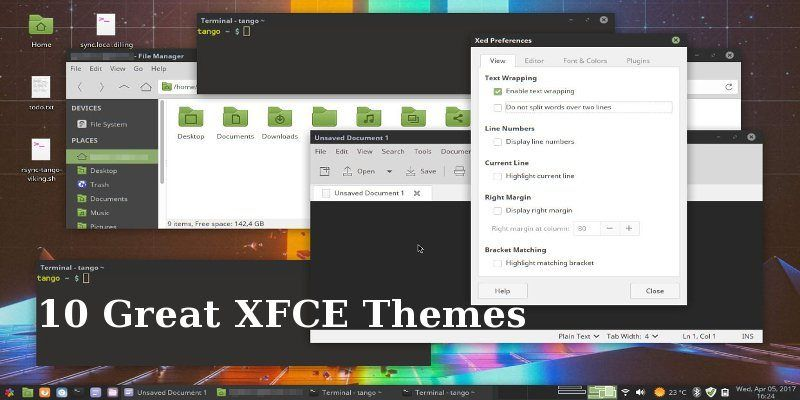 7 Great XFCE Themes for Linux | Open Source & Unix | Linux