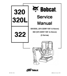 Best download bobcat 320 320l 322 compact excavator