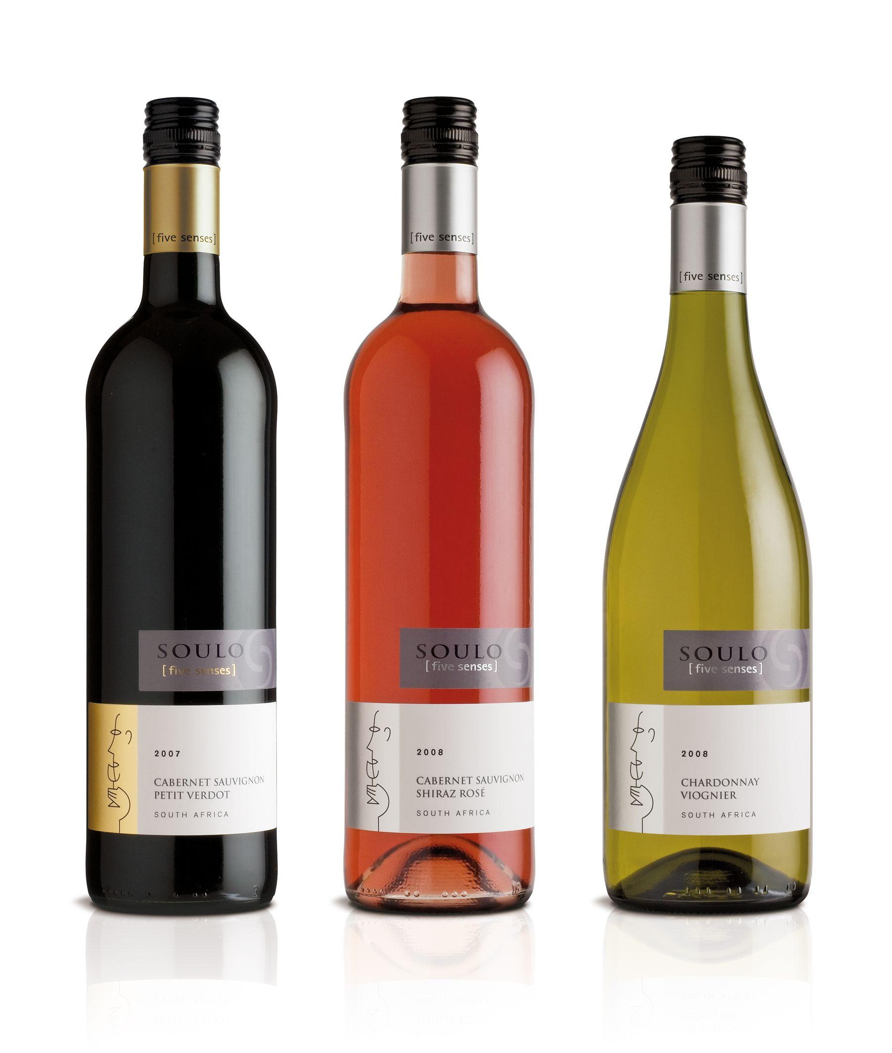 Soulo Five Senses Modern South African For Uk Multiple Rose Wine Bottle Wines Wine Bottle