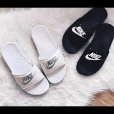 pretty nice edd4e 0b2b1 nike sliders - Google Search White Nike Slides, Adidas Slides, Nike Slides  For Girls