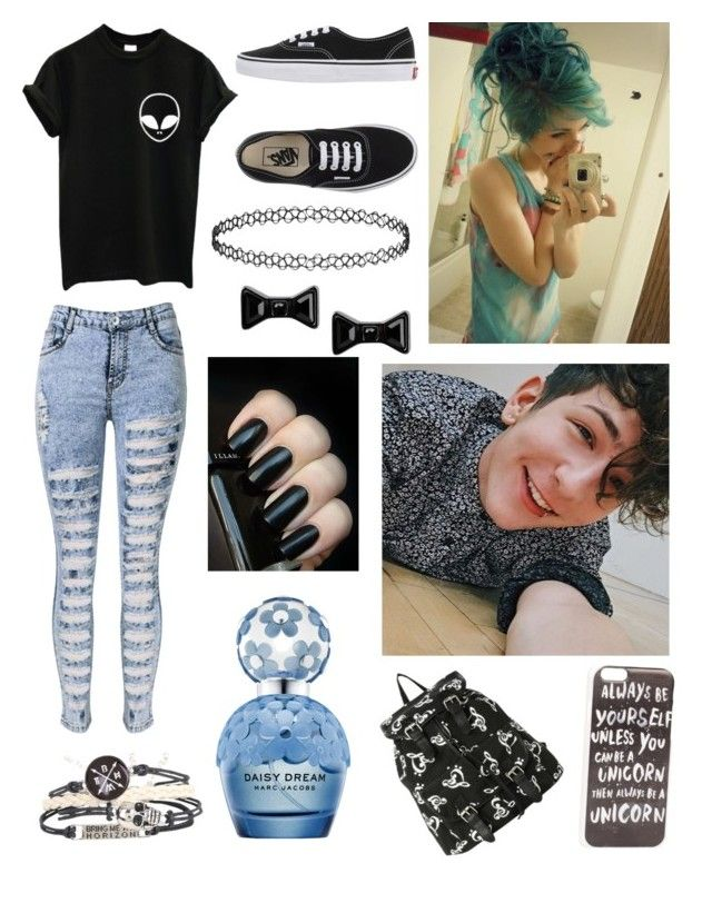 """""""Traveling with Chris!"""" by one-direction-tumblr-girl on Polyvore featuring Vans, Marc by Marc Jacobs, Marc Jacobs, JFR, women's clothing, women's fashion, women, female, woman and misses"""