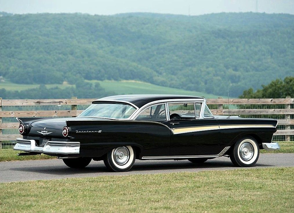 classic 1957 ford fairlane photos The Classic Car Feed - Classic