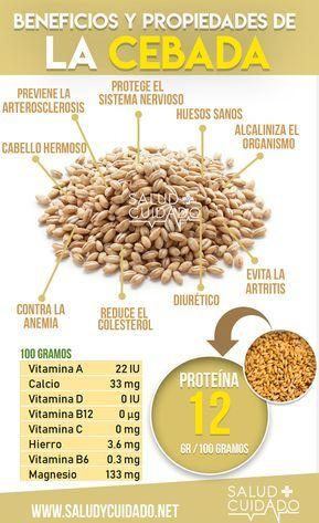 Semillas de cebada para adelgazar
