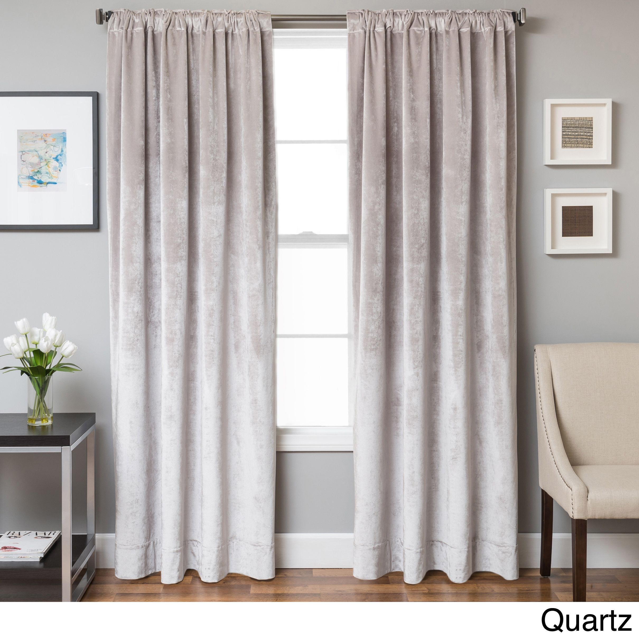 for curtains panel natural velvet curtain exclusive drapes panels fabrics grey blackout pin less