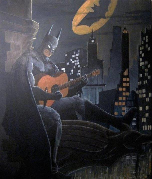 Картинки бэтмен за столом смешное, фото облаке