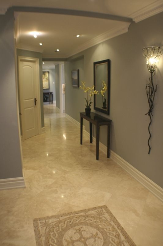 Pin By Lara Bueso On Nooks And Crannies Luxury Marble Flooring Marble Floor Kitchen House Paint Interior