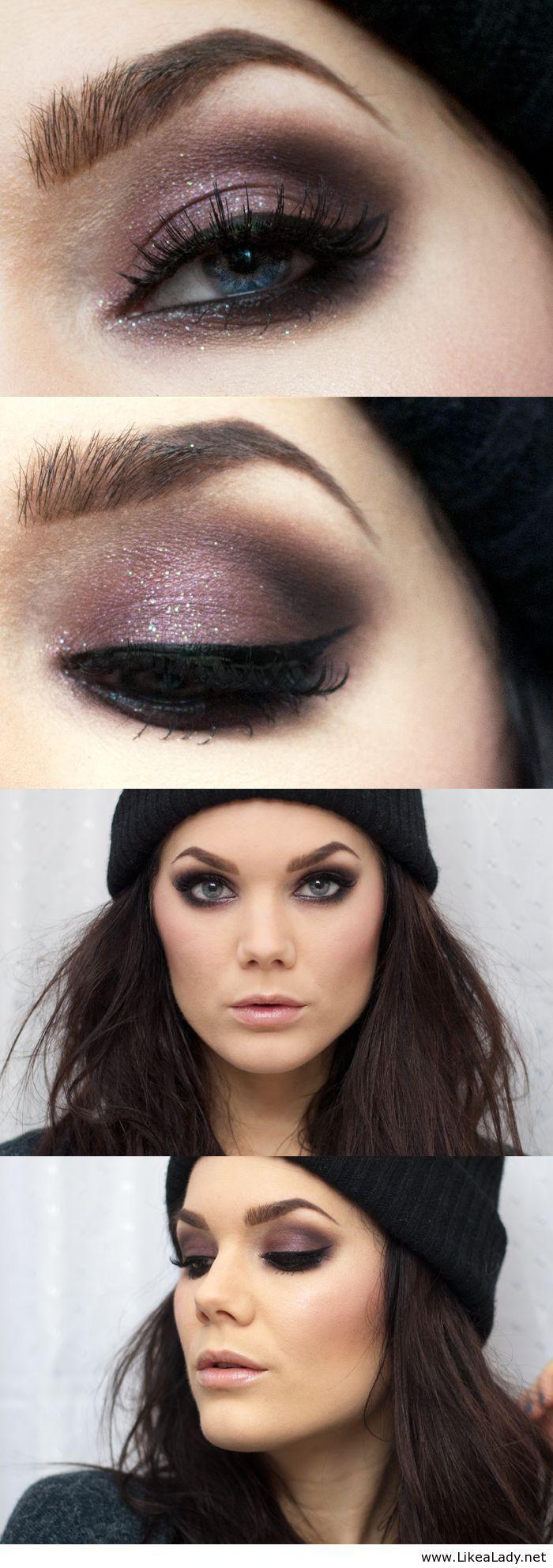 Smokey Eyes For Winter